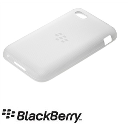 Blackberry Q5 Official Soft Shell Case - White