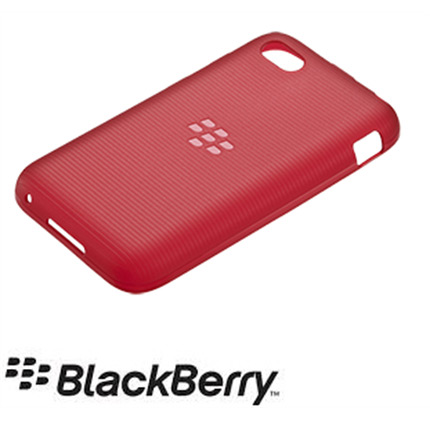Blackberry Q5 Official Soft Shell Case - Red