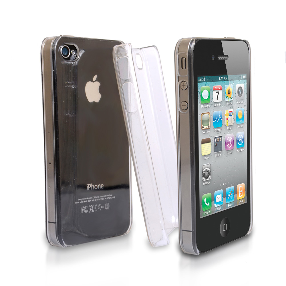 YouSave Accessories iPhone 4 / 4S Crystal Hard Case - Clear