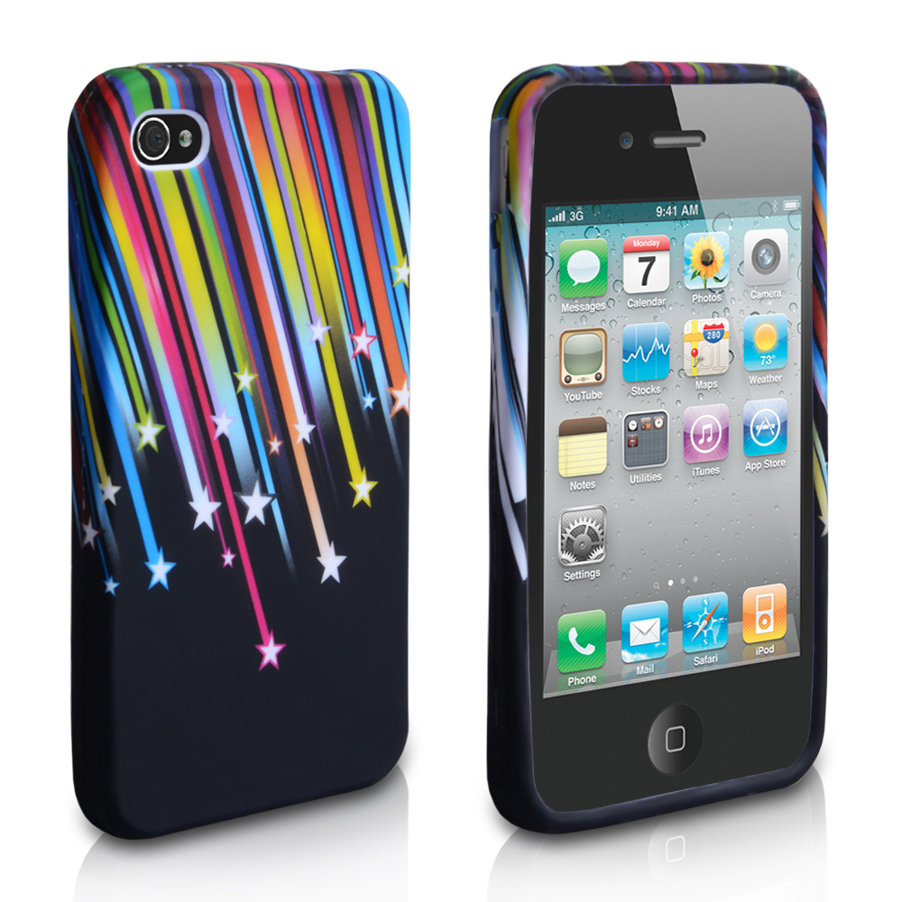 YouSave Accessories iPhone 4 / 4S Shooting Star Gel Case