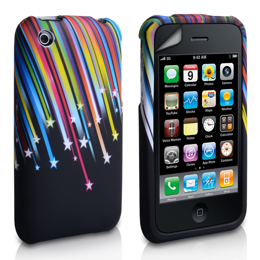 YouSave Accessories iPhone 3G / 3GS Shooting Star Gel Case