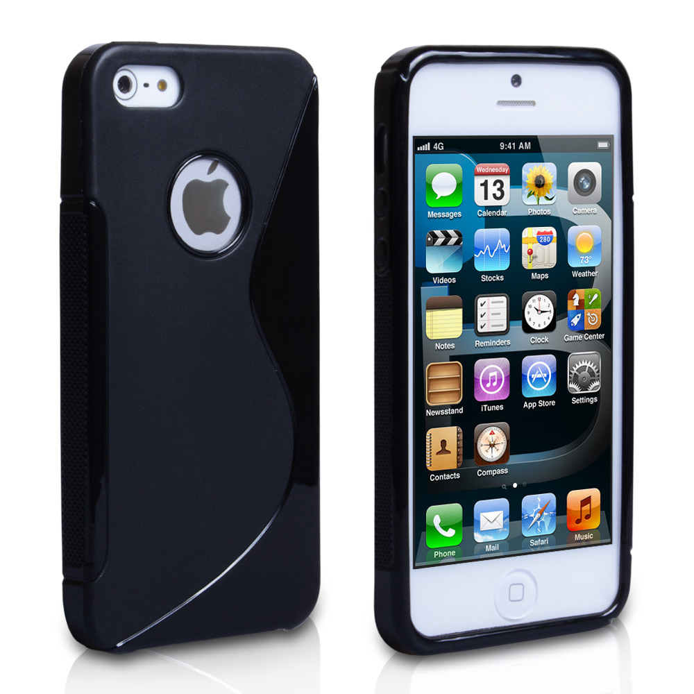 iPhone 5 / 5s Black S-Line Gel Case