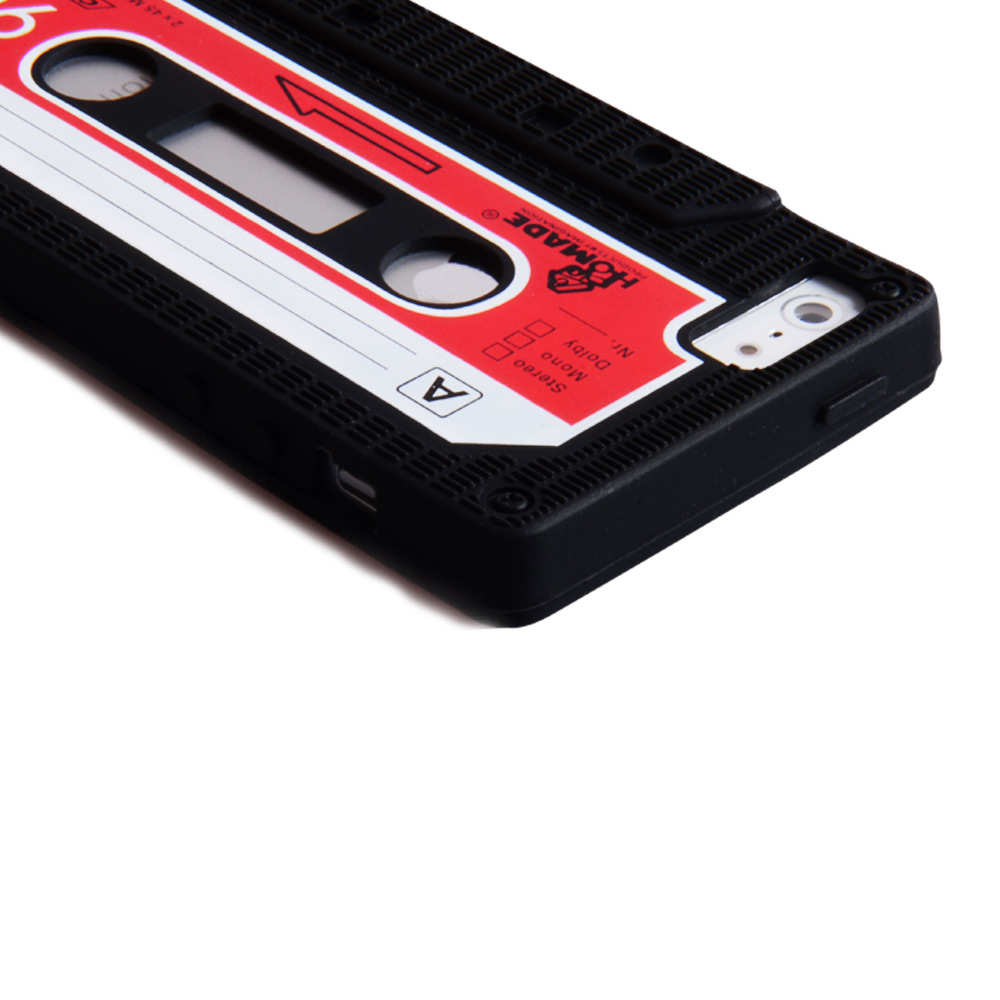YouSave Accessories iPhone 5 / 5S Retro Cassette Case - Black