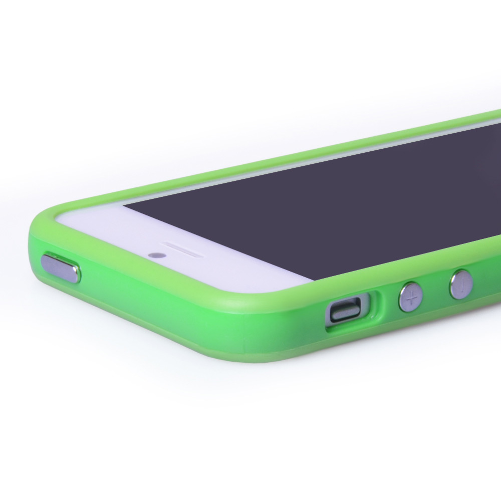 YouSave Accessories iPhone 5 / 5S Green Bumper Case