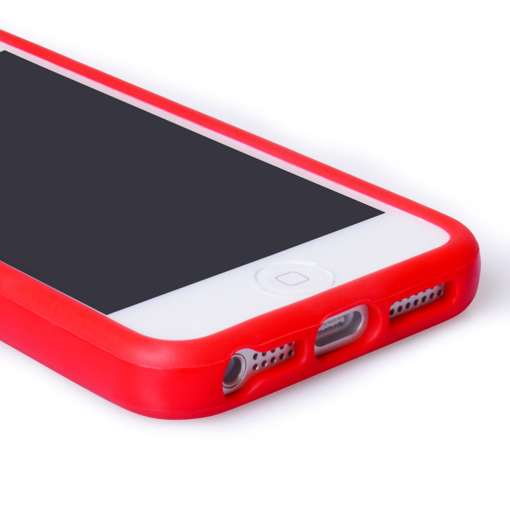 YouSave Accessories iPhone 5 / 5S Bumper Case - Red