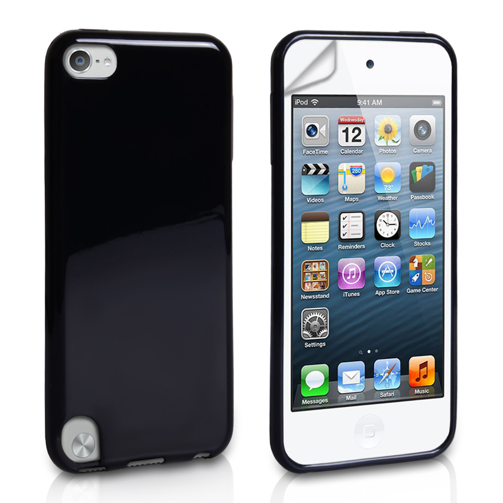 YouSave Accessories iPod Touch 5G Black Glossy Gel Case