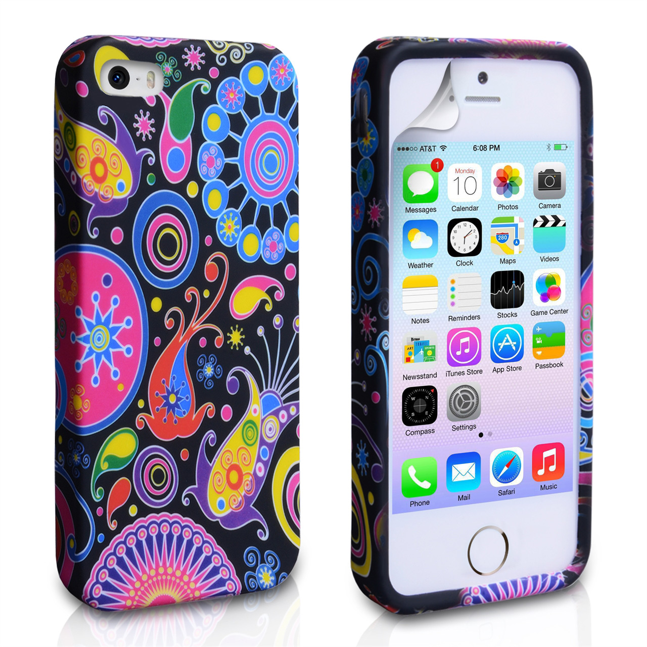 YouSave Accessories iPhone 5 / 5S Jellyfish Gel Case