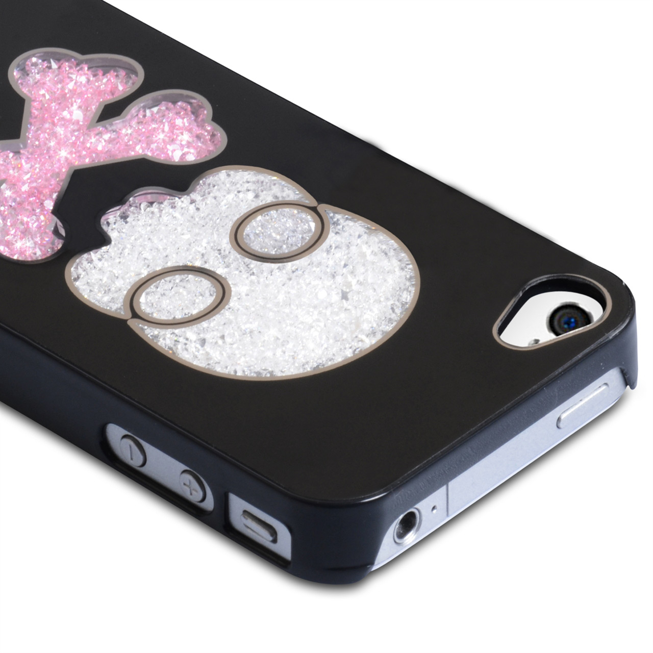 YouSave Accessories iPhone 4 / 4S Skull Hard Case - Black