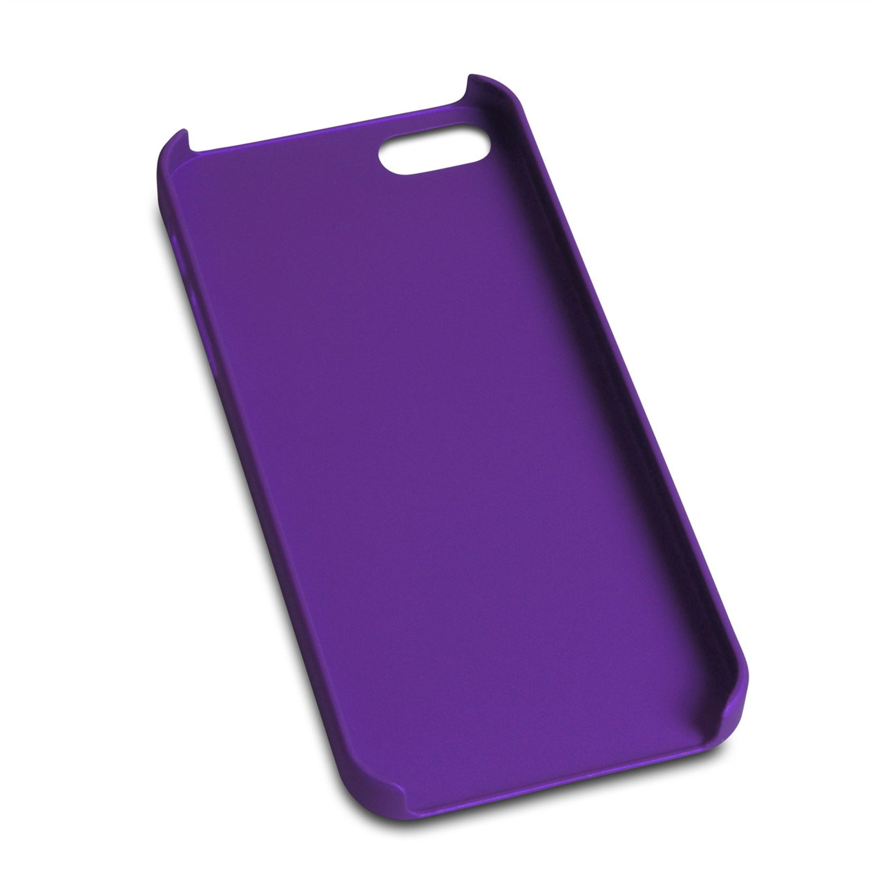 YouSave Accessories iPhone 5 / 5S Purple Hard Hybrid Case
