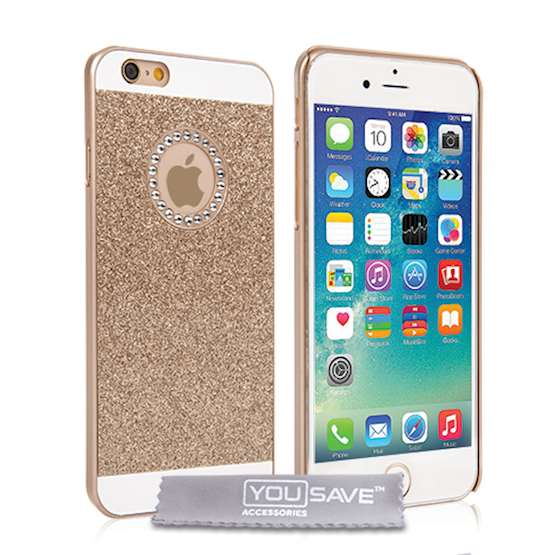 iPhone 6 and 6s Flash Soft Case - Gold