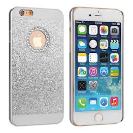 Caseflex iPhone 8 Flash Diamond Case - Silver