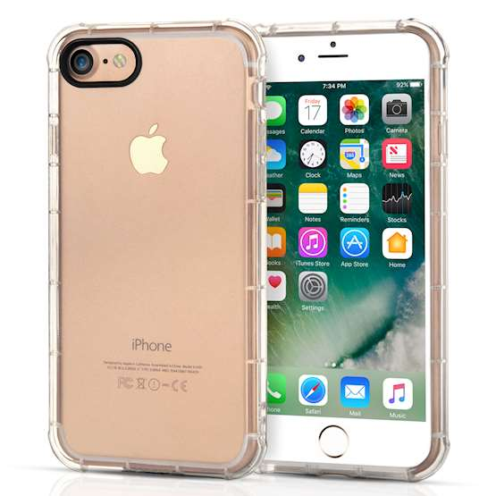 Caseflex iPhone 7 TPU Gel Clear Case