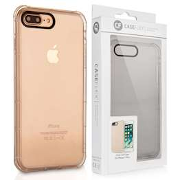 Caseflex iPhone 7 Plus TPU Gel Case - Clear
