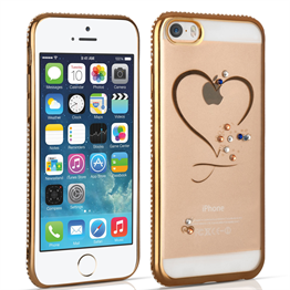 Apple iPhone 5 / 5s and SE Diamond Edge Case - Gold