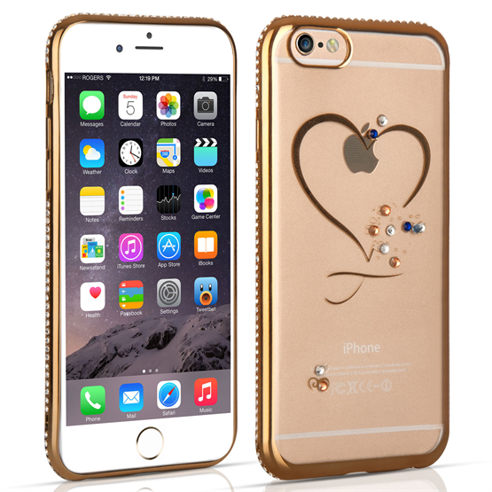 iPhone 6 and 6s Diamond Edge Case - Rose Gold