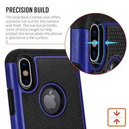 Caseflex iPhone X Mesh Combo - Blue