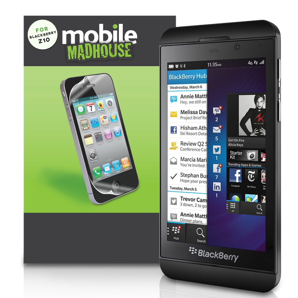 YouSave Accessories Blackberry Z10 Screen Protectors x3