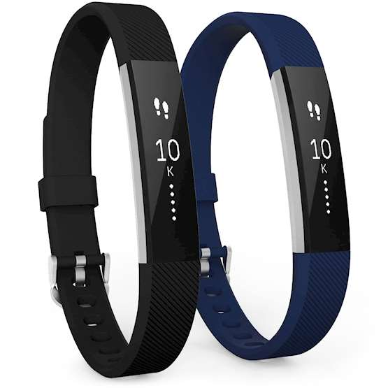 Fitbit Alta Strap 2-Pack (Small) - Black / Blue