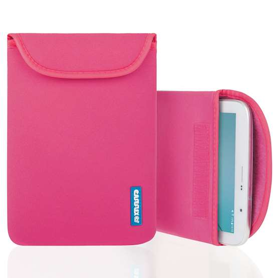 Caseflex 7 Inch Hot Pink Neoprene Tablet Pouch (S)