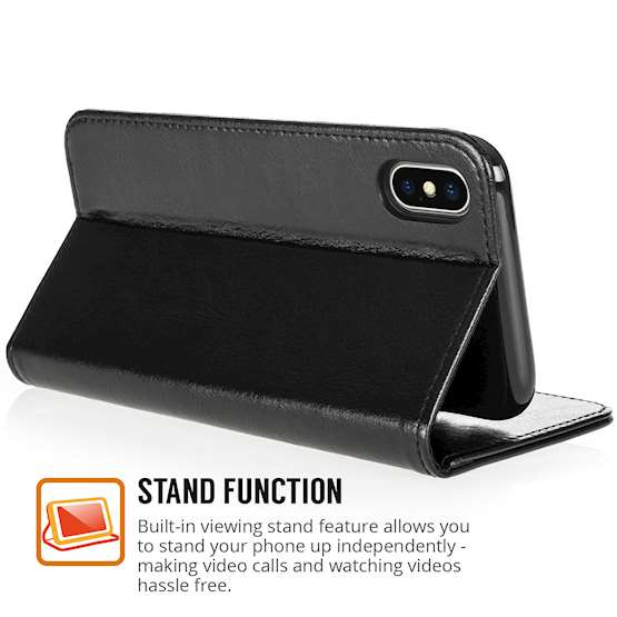 iPhone X Leather ID Wallet Case
