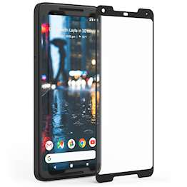 Google Pixel 2 XL Tempered Glass Screen Protector with Black Edge