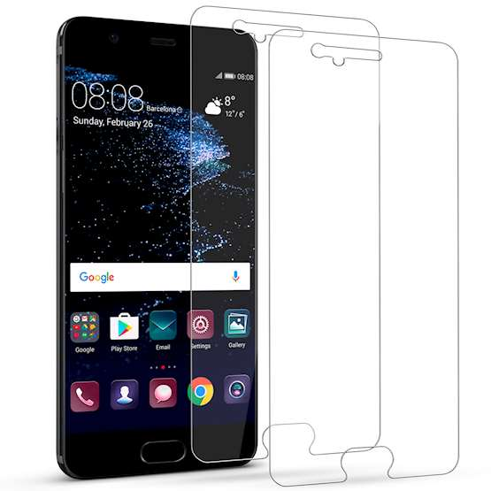Huawei P10 Glass Screen Protector Case - Clear
