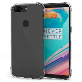 OnePlus 5T TPU Gel Soft Thin Silicone Back Cover - Crystal Clear