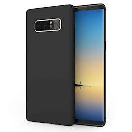 Samsung Galaxy Note 8 TPU Silicone Gel - Solid Black Matte