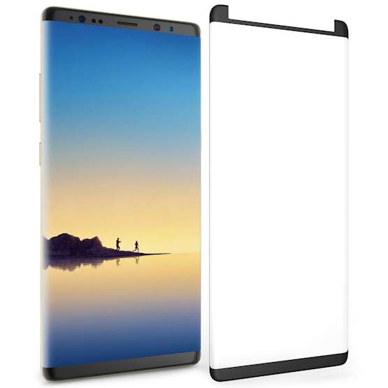 Samsung Galaxy Note 8 Tempered Glass Screen Protector (Single) - Clear Curved Edge