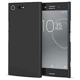 Sony Xperia XZ Premium Case,  Scratch Resistant - Matte Finish  - Lightweight & NO Bulkiness - TPU Gel Soft Thin Silicone Back Cover - Black