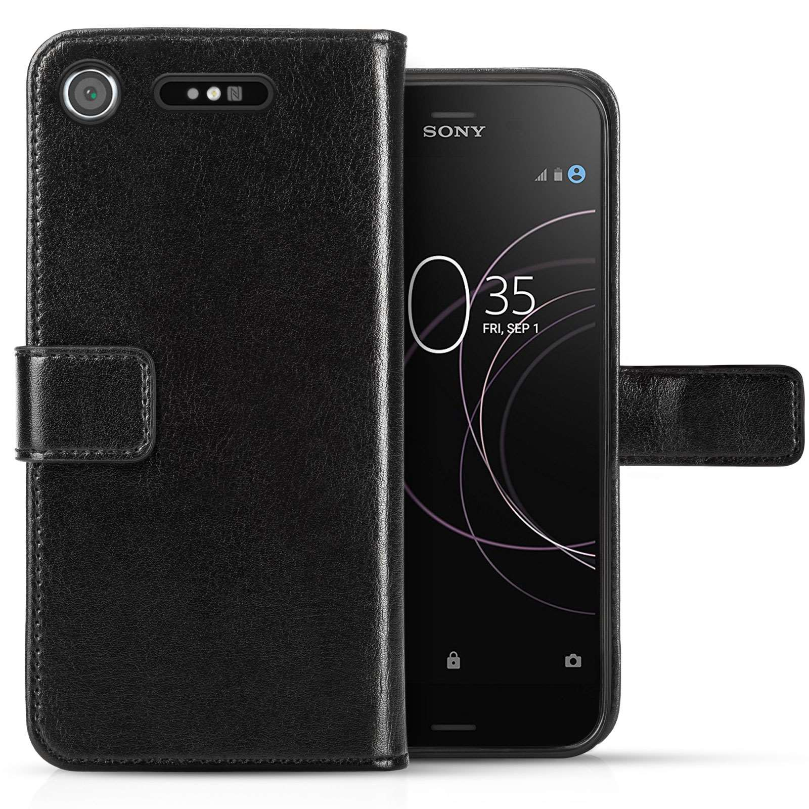 Sony Xperia XZ1 Real Leather ID Wallet