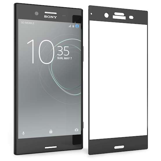 Sony Xperia XZ1 Screen Protector Glass |Single Pack -NO Bulkiness| Anti Scratch |Tempered Glass Screen Protectors For The Sony Xperia XZ1 |Ultra Slim -Crystal Clear