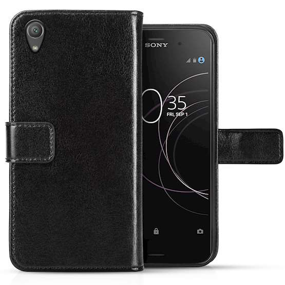 Sony Xperia XA1 Plus Leather Wallet Case | ID