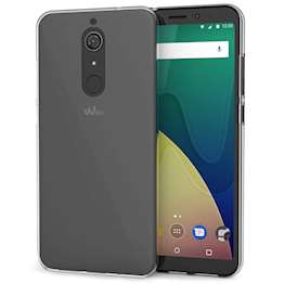 Wiko View XL Case,  Scratch Resistant - Ultra Slim & Lightweight - NO Bulkiness - TPU Gel Soft Thin Silicone Back Cover - Clear