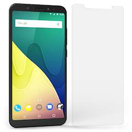 Wiko View XL  Screen Protector Glass |Single Pack -NO Bulkiness| Anti Scratch |Tempered Glass Screen Protectors For The Wiko View XL  |Ultra Slim -Crystal Clear