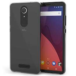Wiko View Case,  Scratch Resistant - Ultra Slim & Lightweight - NO Bulkiness - TPU Gel Soft Thin Silicone Back Cover - Clear