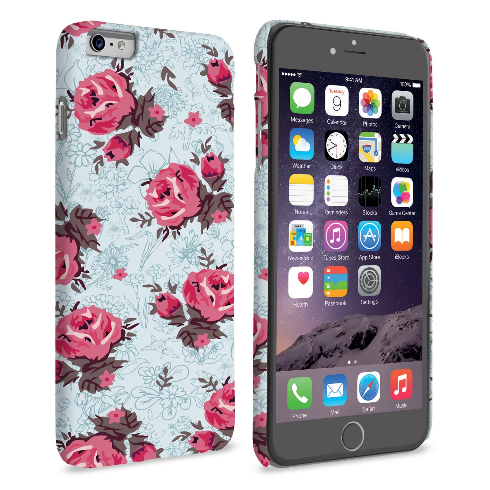 Iphone 6 M Wallpaper: Caseflex IPhone 6 And 6s Plus Vintage Roses Wallpaper H