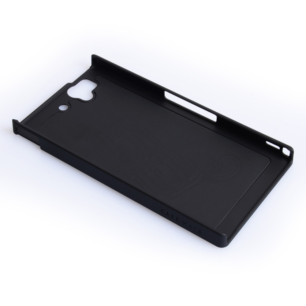 Case Mate Sony Xperia Z Barely There Case - Black