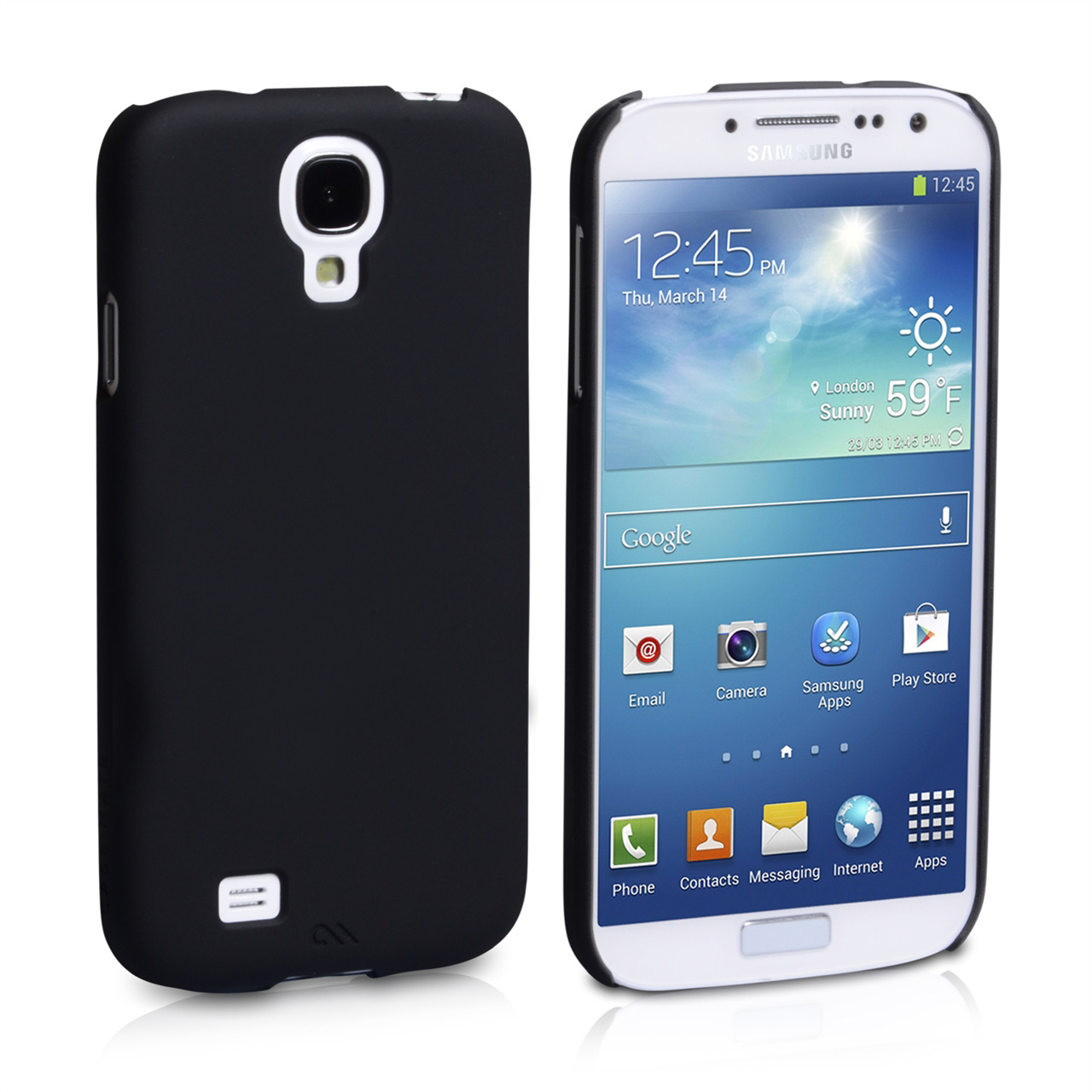 Casemate Samsung Galaxy S4 Barely There Case - Black