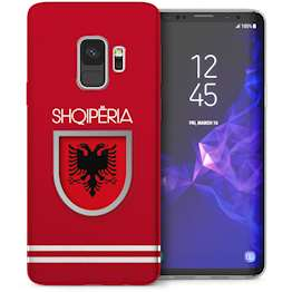 Samsung Galaxy S9 Albania World Cup TPU Gel Case