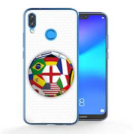 Huawei P20 Lite Flags World Cup TPU Gel Case
