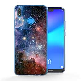 Huawei P20 Lite Blue Constellation TPU Gel Case