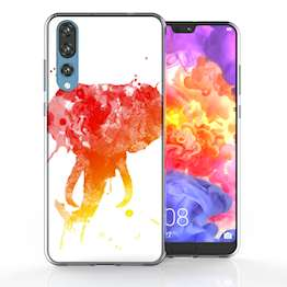Huawei P20 Pro Elephant Splash TPU Gel Case