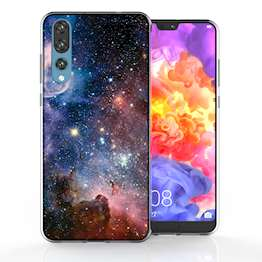 Huawei P20 Pro Blue Constellation TPU Gel Case
