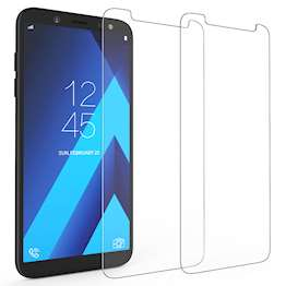 Samsung Galaxy A6 (2018) Tempered Glass (Twin Pack) - Clear