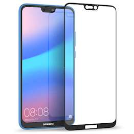 Huawei P20 Lite Glass Screen Protector (Single) - Black Edge