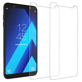 Samsung Galaxy A6 Plus (2018) Tempered Glass (Twin Pack) - Clear