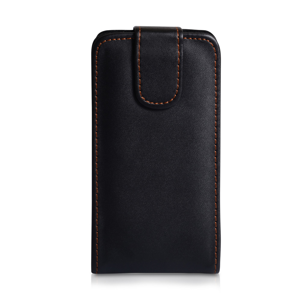 YouSave Accessories HTC One SV Leather Effect Flip Case - Black