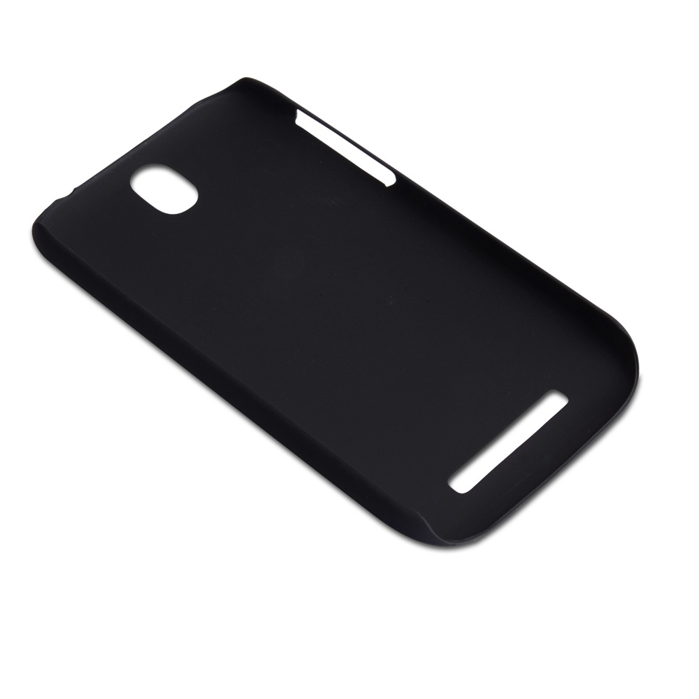 YouSave Accessories HTC One SV Black Hard Hybrid Case