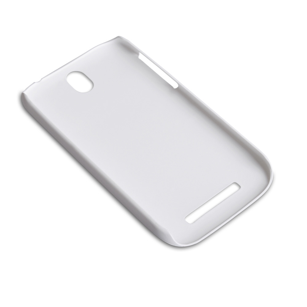 YouSave Accessories HTC One SV Hard Hybrid Case - White